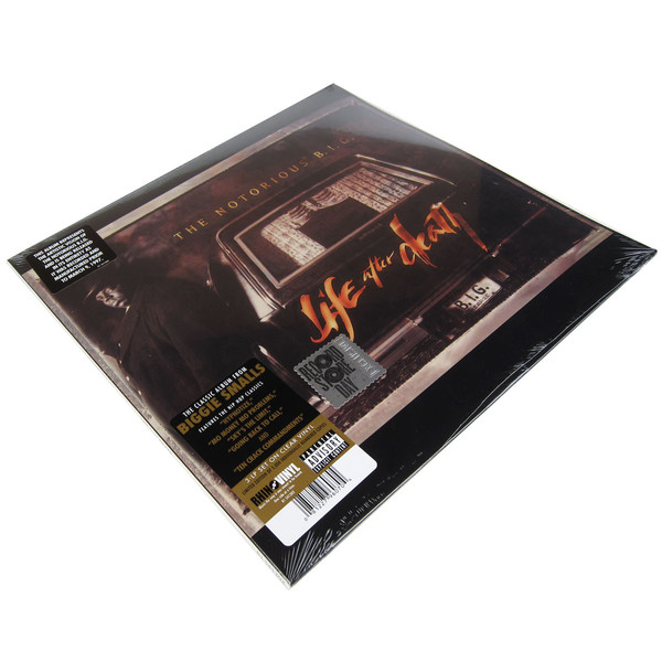 Life after Death 3LP RSD clear vinyl limited edition