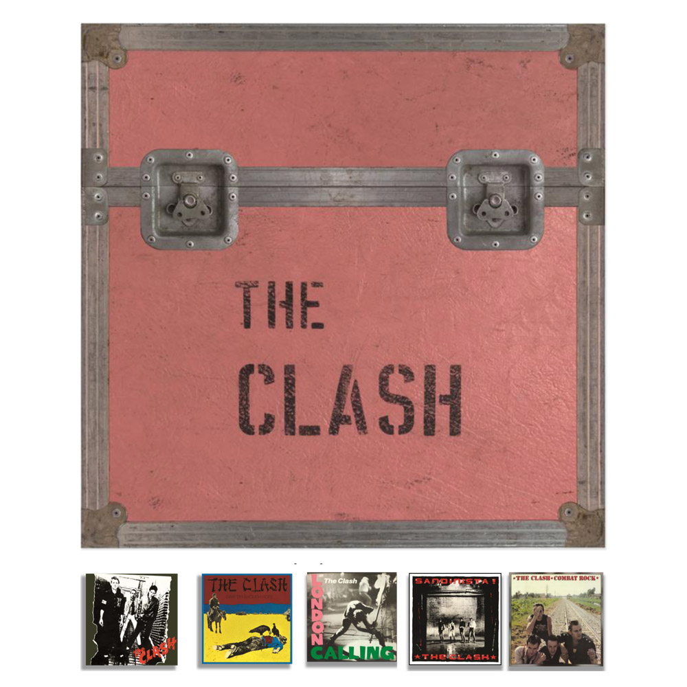 5 Album Studio Set Box set